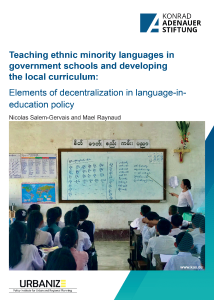 Teaching ethnic minority languages in government schools and developing the local curriculum