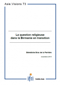 La question religieuse dans la Birmanie en transition